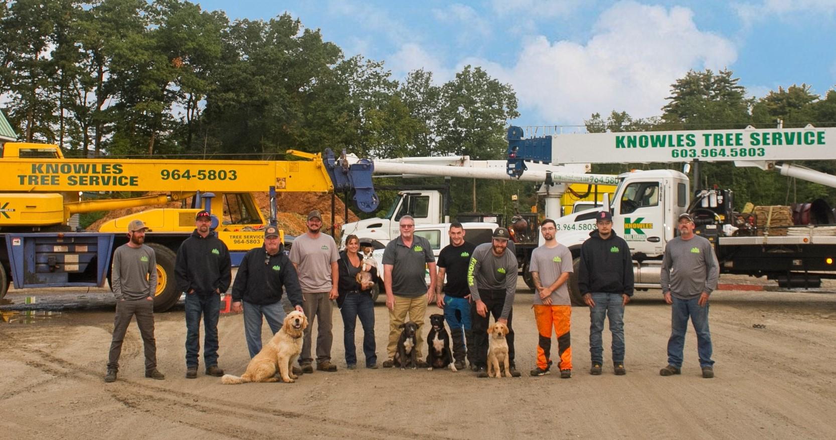 Knowles Tree Service 2020 Crew